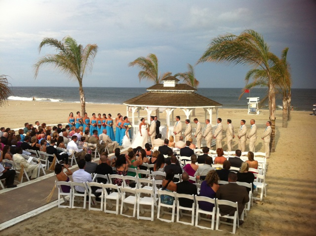 518a9e957 Sean   Marisa s Beachside Wedding is a Smash