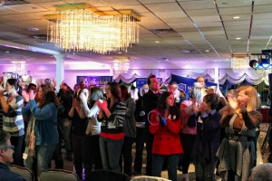 Elite Packing the Dance Floor as a Recent Bridal Show