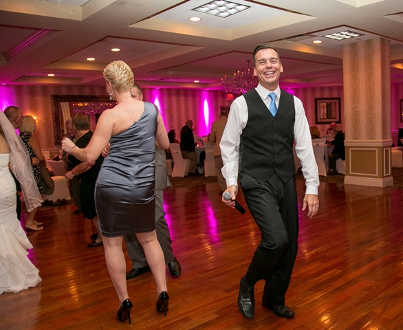 "Worked with Cindy from Elite Digital Images at this wedding.  They say if you find something you love to do you'll never ""work"" a day in your life.  I love DJing and I guess it shows"