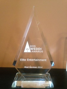 Elite Entertainment's Weddi Award - Copy