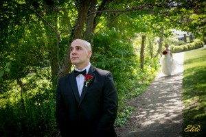 "When our very own Kris Abrahamsen got married he did a ""First Look"" with his bride-to-be Danielle"